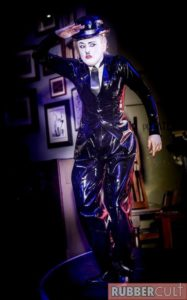 Latex Charlie Chaplin