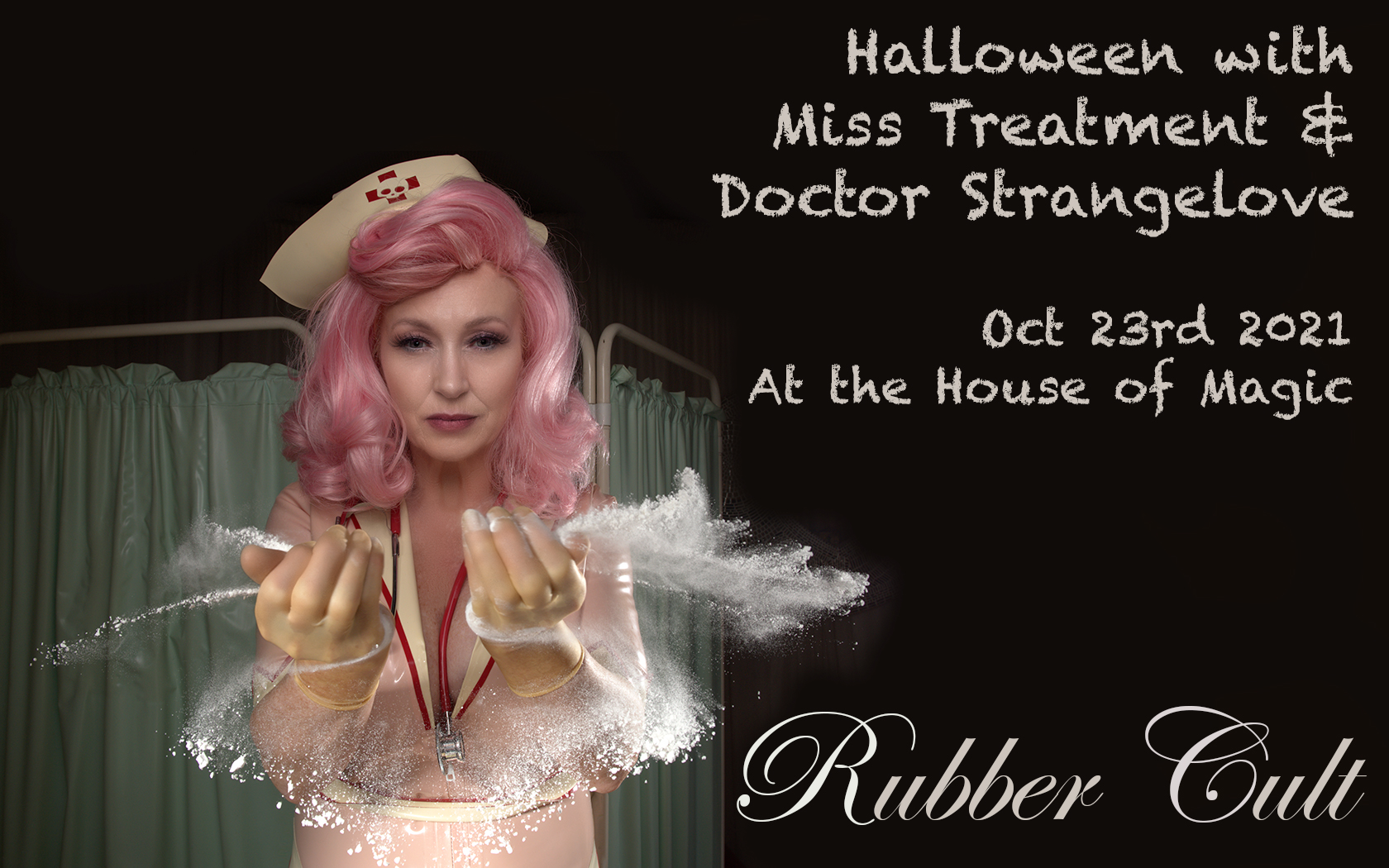 Rubber Cult Halloween Mad House